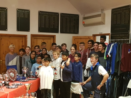 Club Awards Evening 2018