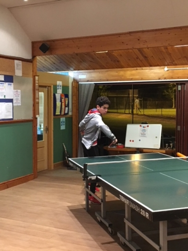 Table Tennis October 2018